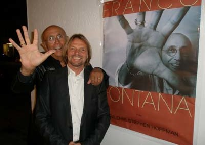 Franco Fontana und Stephen Hoffman, Foto: Helga Waess