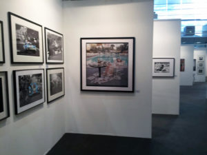 art Karlsruhe 2018 - Messestand der Galerie Stephen Hoffman