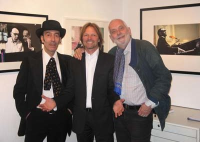 Giack Londra, Stephen Hoffman Ekkehart Sachse, Foto: Helga Waess