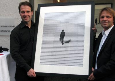 Jan-Oliver Wenzel mit Stephen Hoffman, Foto Helga Waess - 2010