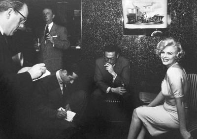 Manfred Linus Kreiner, Marilyn Monroe, Gruppenbild - Interview, Galerie Stephen Hoffman, München