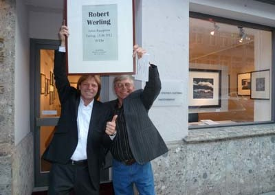 Stephen Hoffman mit Robert Werling