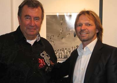 Eckhart Schmidt mit Stephen Hoffman
