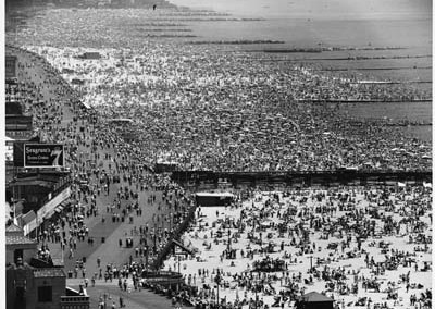 Andreas Feininger, Coney Isalnd 4th July, 1948, Galerie Stephen Hoffman, Muenchen