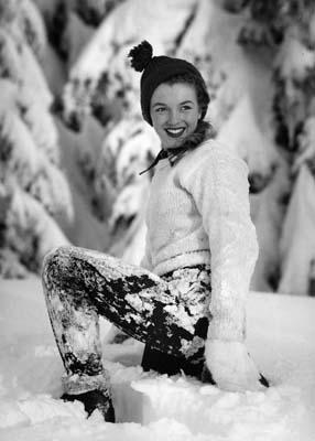 Andre de Dienes - Marilyn Monroe im Schnee, Galerie Stephen Hoffman