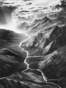 Sebastião Salgado, Brooks Range, Alaska, Galerie Stephen Hoffman, München