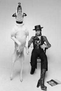 David Bowie für das Cover von Diamond Dog, 1974, by Terry O'Neill