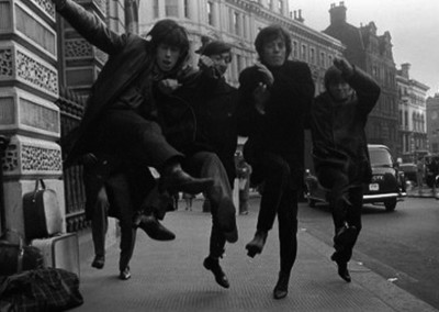Terry O'Neill, The Rolling Stones jumping - 1963 - Galerie Stephen Hoffman - Munich