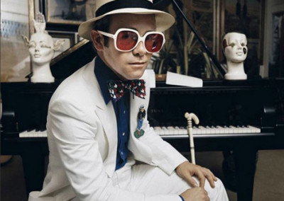 Elton John at the Piano