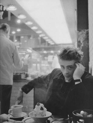Dennis Stock, James Dean cafee