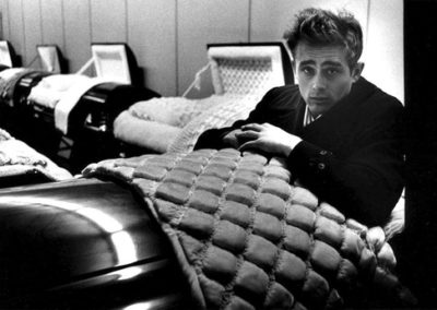 Dennis Stock, James Dean, coffin