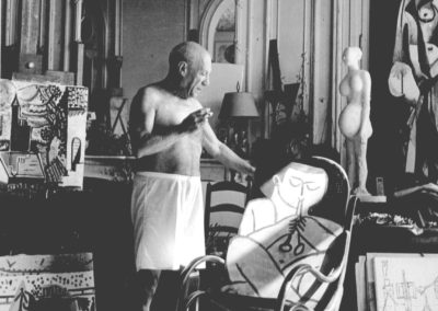 Andre Villers,  Picasso im Atelier