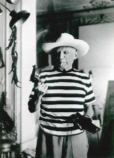 Andre Villers, Picasso mit Revolver