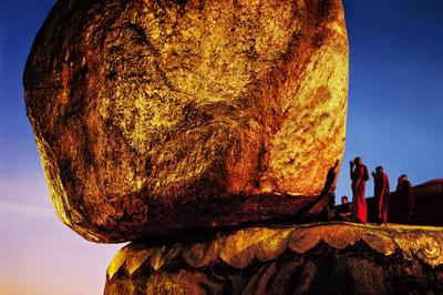 Golden Rock, Kyaiktiyo, Myanmar/Burma, 1994