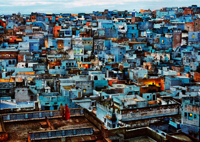 Steve McCurry, Blue City, Jodhpur, Rajasthan, India, 2010 - Galerie Stephen Hoffman, München
