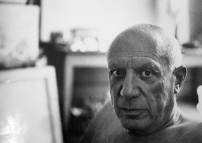 Andre Villers, Picasso, Cannes, 1956