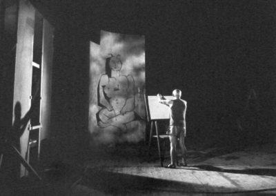 Andre Villers, Picasso en 1955