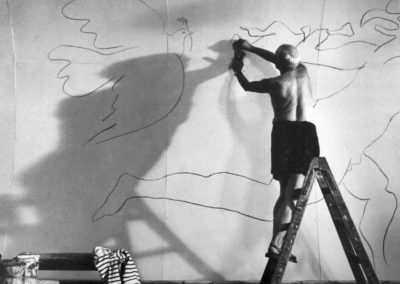 Andre Villers, Picasso, Villauris, 1953