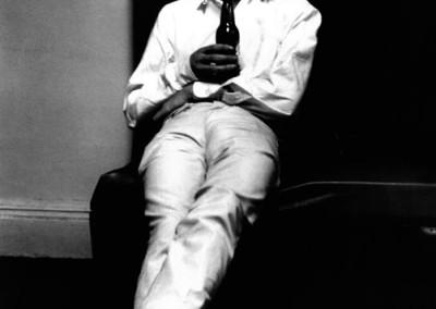 Terry O'Neill, Mick Jagger backstage, Galerie Stephen Hoffman, Munich
