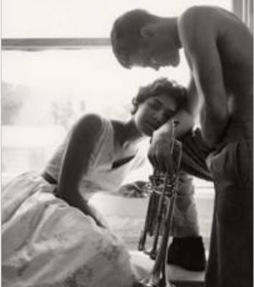 Claxton, William, Halima Chet and Baker 1955