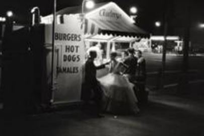 William Claxton,, Hot Dog Stand LA 1961