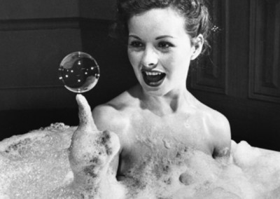 Peter Stackpole, Jeanne Crain, 1946
