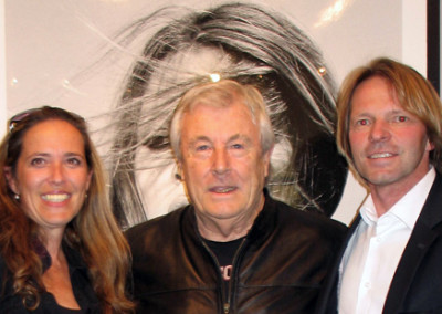 Vernissage 2013 Terry ONeill und Familie Hoffman, Galerie Stephen Hoffman , Munich , Foto: Helga Waess