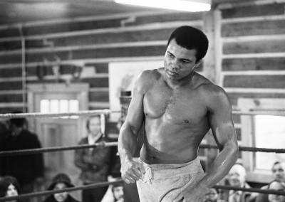Michael Brennan, Ali - Shadow boxing, Galerie Stephen Hoffman