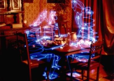 ALEXANDRE DURAND, La Bonhommes bleus Family, 2002
