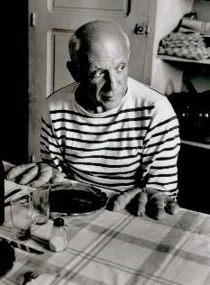 Robert Doisneau, Picasso / au petits pains
