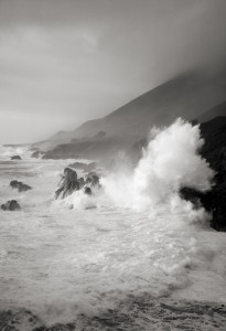 GSH, Cara Weston, Wave Burst Big Sur Coast 1