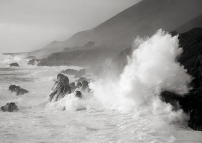 GSH, Cara Weston, Wave Burst Big Sur Coast 1