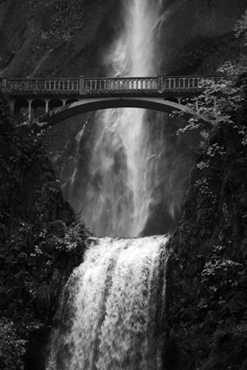 Cara Weston, Bridge and waterfall