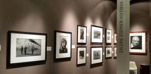 Munich Highlights - Kunstmesse - Stand der Galerie Stephen Hoffman, Foto: Helga Waess