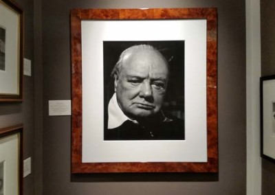 Philipp Halsman, Winston Leonard Spencer-Churchill, 1951 - GSH