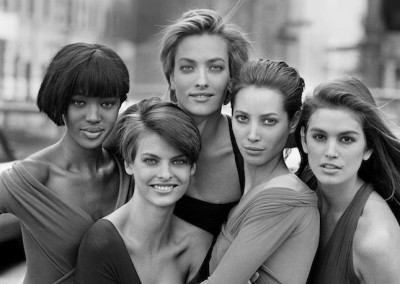 Peter Lindbergh, Supermodels, 1989