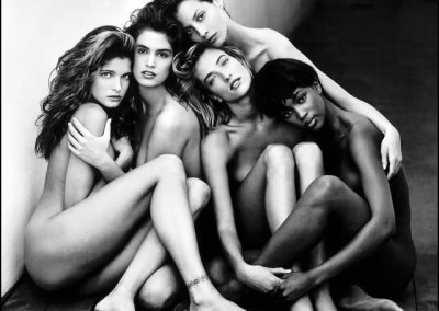 Peter Lindbergh, Supermodels