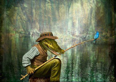 Maggie Taylor, Alligator man