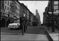 Dennis Stock, PAR73601- James Dean, midtown NYC, 1955