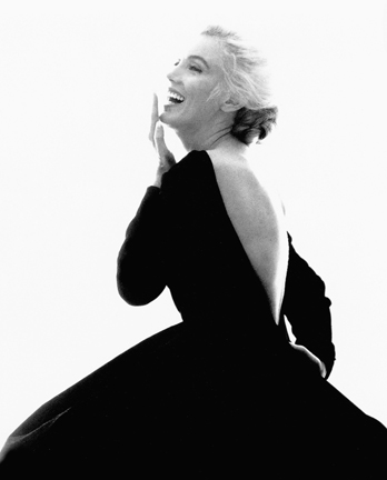 Stern.B_MarilynMonroe.BlackDress.2