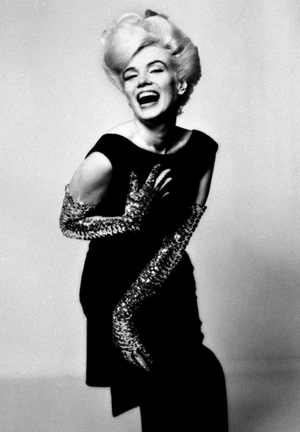 Stern.B_MarilynMonroe.BlackDress.Laugh