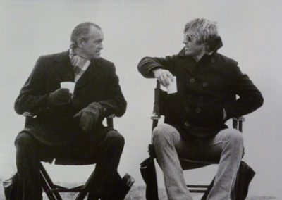 Terry O'Neill, Redford, directors chair - Galerie Stephen Hoffman - Munich