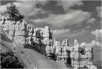 Jan-Oliver Wenzel, Hoodoos & Clouds, Bryce Canyon, Utah, 2009