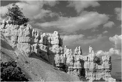 Jan-Oliver Wenzel, Hoodoos & Clouds, Bryce Canyon, Utah, 2009, Galerie Stephen Hoffman