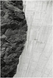 Jan-Oliver Wenzel, Hoover Dam Detail, Nevada, 2009