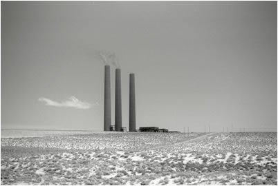 Jan-Oliver Wenzel, Navajo Power Plant, Arizona, 2009