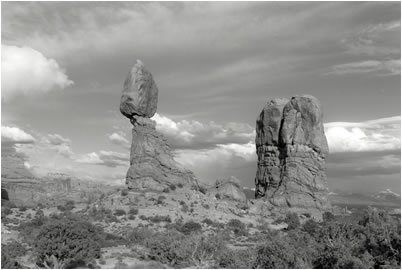 Jan-Oliver Wenzel, Balanced Rock Arches National Park, Utah, 2009