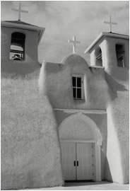 Jan-Oliver Wenzel, Main Entrance St. Francis, Ranchos de Taos, New Mexico, 2010