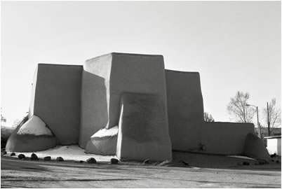 Jan-Oliver Wenzel, Morning, St. Francis, Ranchos de Taos, New Mexico, 2010