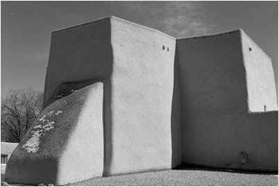 Jan-Oliver Wenzel, North West Front, St. Francis Church, Ranchos de Taos, New Mexico, 2010